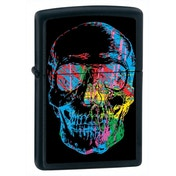 Zippo X-Ray Skull Black Matte Windproof Lighter