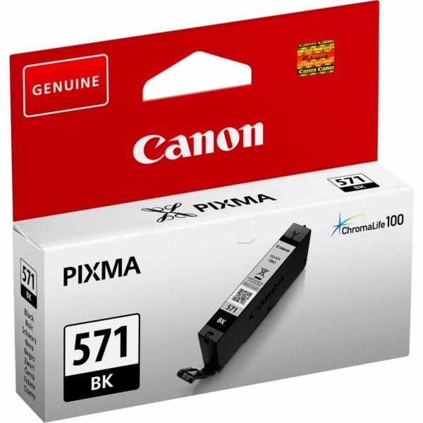 Canon 0385C001 (571 BK) Ink cartridge black, 1.11K pages, 7ml