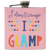 Glamping Hip Flask