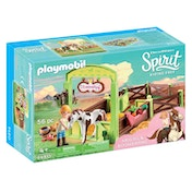Playmobil DreamWorks Spirit Horse Box Abigail and Boomerang