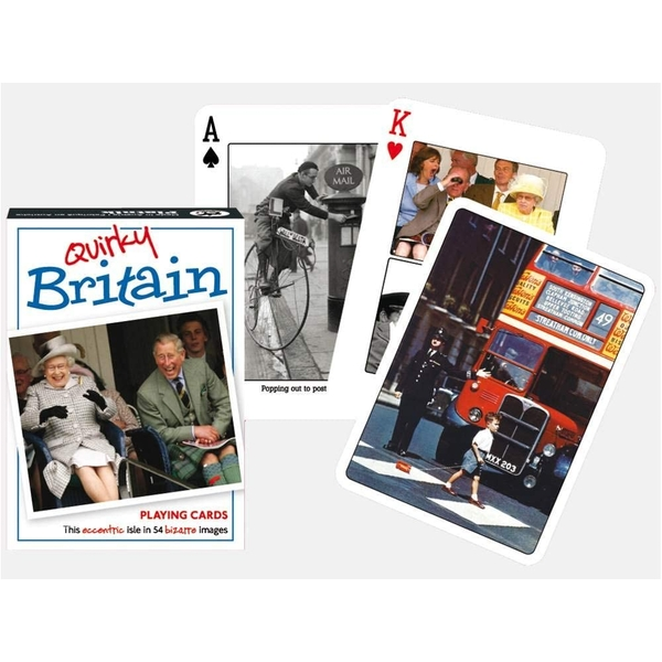 Quirky Britain Collectors Playing Cards