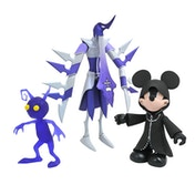 Hooded Mickey Mouse Assassin and Purple Shadow (Kingdom Hearts) Action Figure