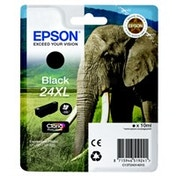 Epson C13T24314012 (24XL) Ink cartridge black, 500 pages, 10ml