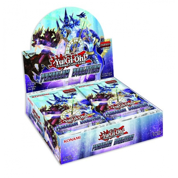Yu-Gi-Oh! TCG Pendulum Evolution Trading Card Booster Box (24 packs)