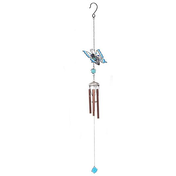 Turquoise Gradient Butterfly Windchime