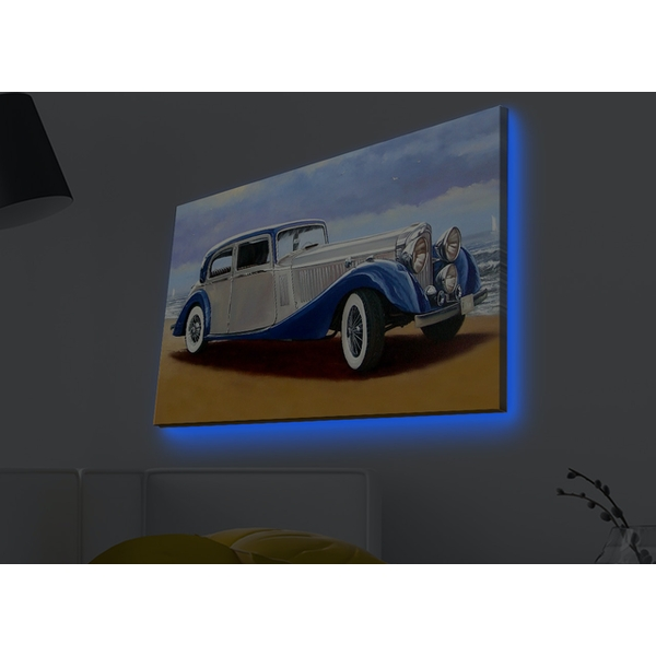 4570MDACT-013 Multicolor Decorative Led Lighted Canvas Painting