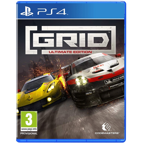 GRID Ultimate Edition PS4 Game