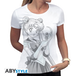 Sailor Moon - Bunny And Moon Stick Women's Small T-Shirt - White - Image 2