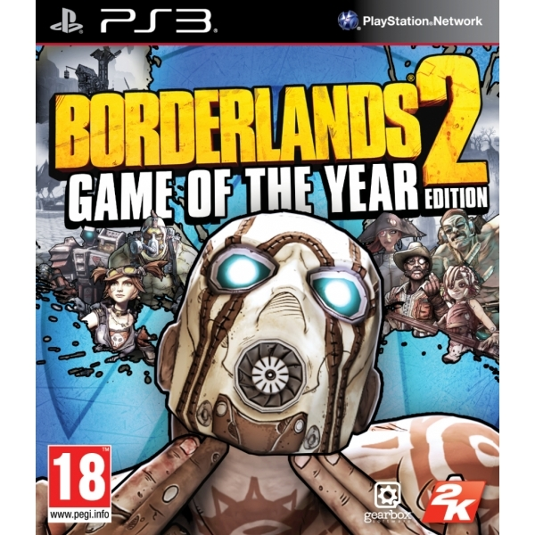 Borderlands 2 Game Of The Year (GOTY) PS3