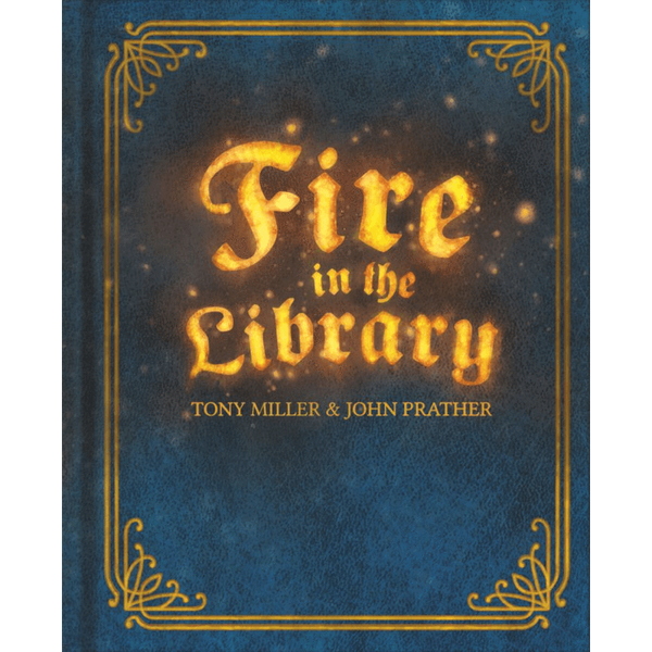 Fire in the Library Board Game