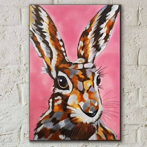 Tile 8x12 Another Mad Hare Day By Sam Fenner Wall Art
