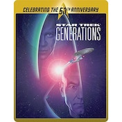 Star Trek 7 - Generations (Limited Edition 50th Anniversary Steelbook) Blu-ray