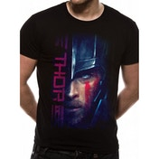 Thor Ragnarok - Thor Script Men's Small T-Shirt - Black