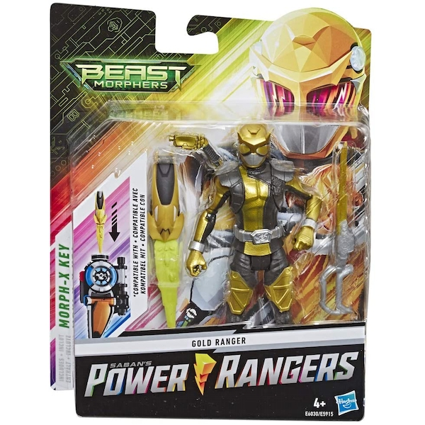 Gold Ranger (Power Rangers Beast Morphers) Action Figure