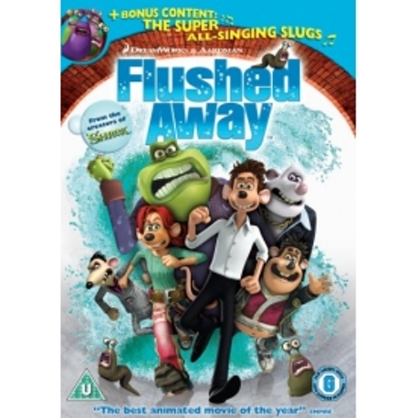 Flushed Away 2007 DVD