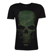 Ghost Recon - Topo Skull Men's X-Large T-Shirt - Black