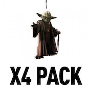 (4 Pack) Yoda (Star Wars) Official Disney Car/Home Air Freshener
