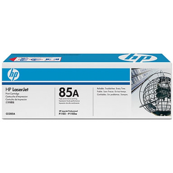 HP CE285AD (85A) Toner black, 1.6K pages, Pack qty 2 - Image 2