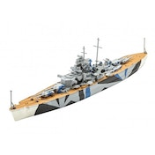 Tirpitz 1:1200 Revell Model Set