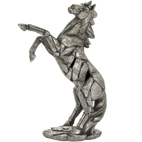 Natural World Rearing Horse Figurine By Lesser & Pavey