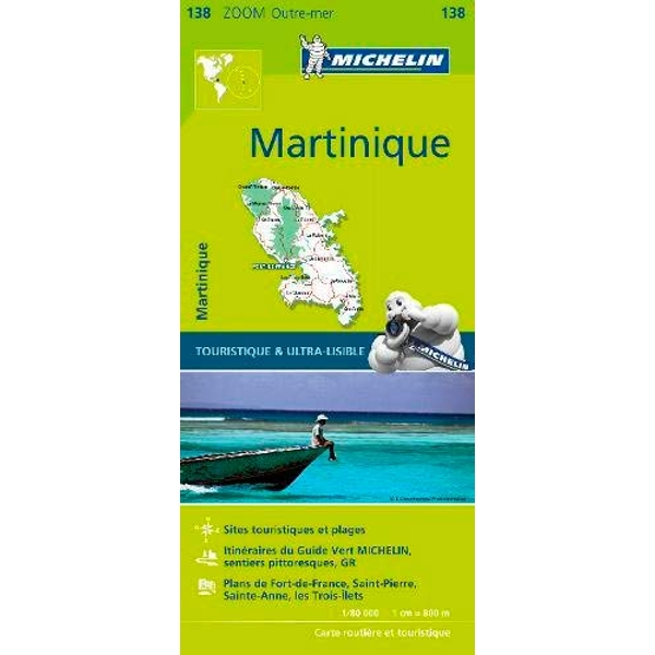 Martinique - Zoom Map 138 Map Sheet map 2017