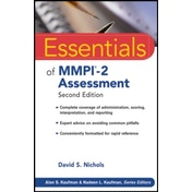 Essentials of MMPI-2 Assessment by David S. Nichols (Paperback, 2011)