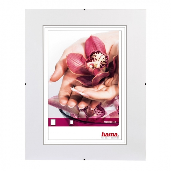 Clip-Fix Frameless Picture Holder Anti-reflective glass (15x21cm)