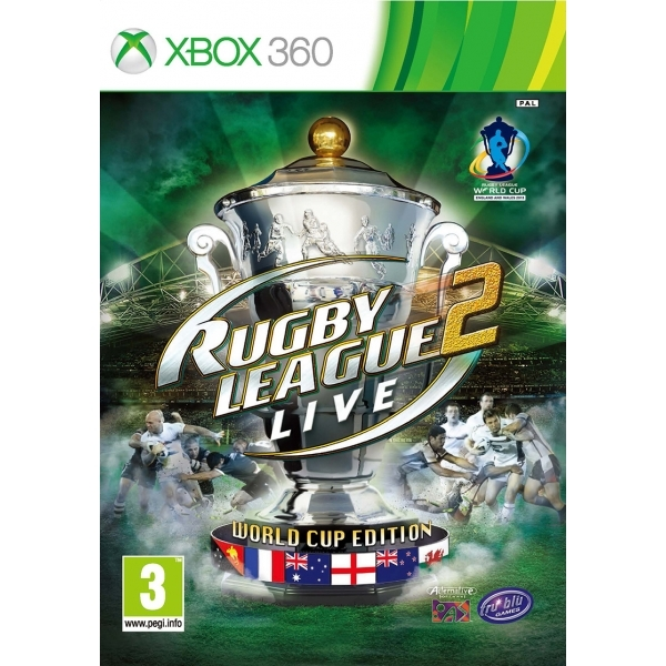 Rugby League Live 2 World Cup Edition Game Xbox 360