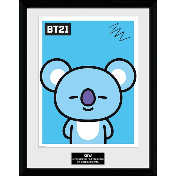 BT21 - Koya Collector Print
