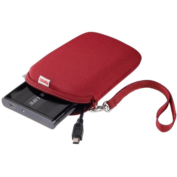 Hama Neoprene HDD Red Cover (2.5 Inch)