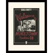 Call of Duty - Nuke Town Mounted & Framed 30 x 40cm Print