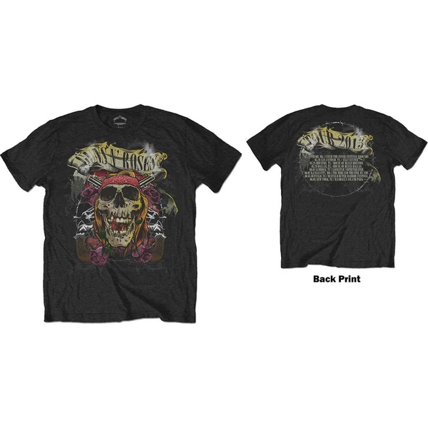 Guns N' Roses - Trashy Skull Men's Large T-Shirt - Black
