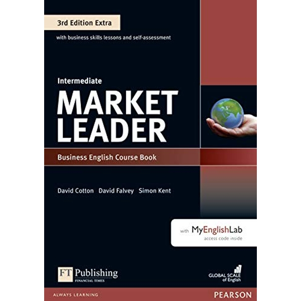 Market Leader 3rd Edition Extra Intermediate Coursebook with DVD-ROM and MyEnglishLab Pack  Mixed media product 2016