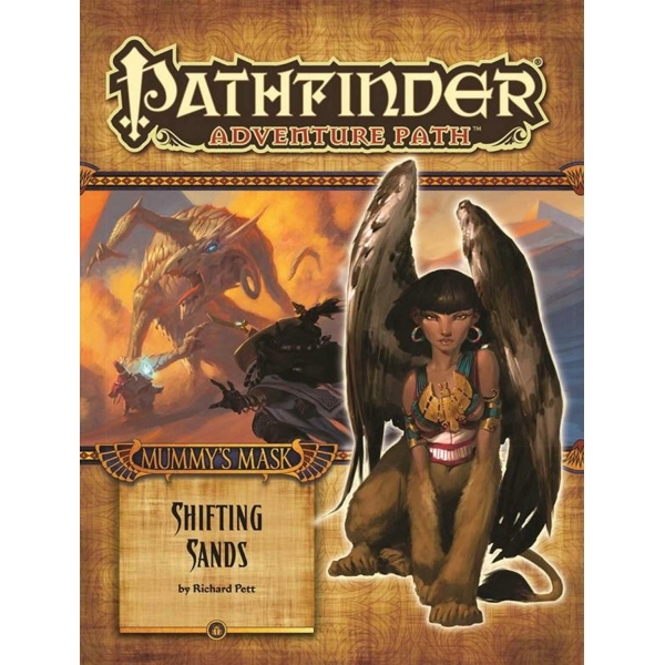 Pathfinder Adventure Path: Mummy's Mask Part 3 - Shifting Sands by Richard Pett (Paperback, 2014)