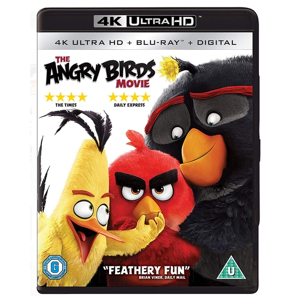 Angry Birds Movie 4K Ultra HD + Blu-ray