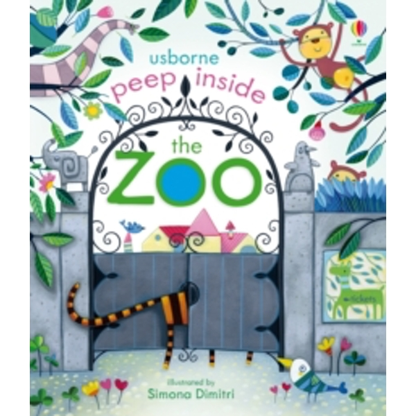 Peep Inside the Zoo by Anna Milbourne (Board book, 2013)