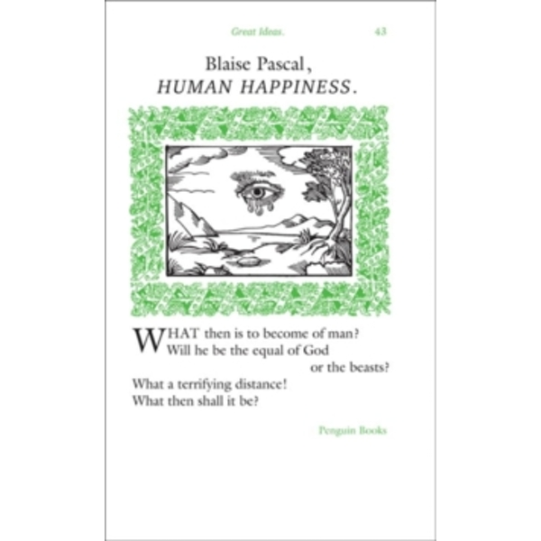 Human Happiness by Blaise Pascal (Paperback, 2008)