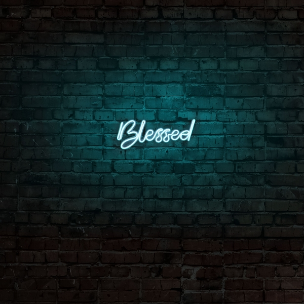 Blessed - Blue Blue Wall Lamp