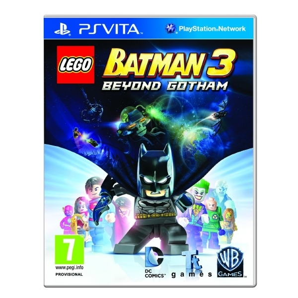 Lego Batman 3 Beyond Gotham PS VITA Game