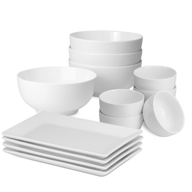 Set Of 14 Porcelain Party Set | M&W
