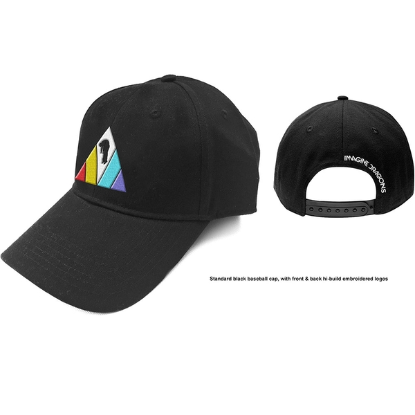 Imagine Dragons - Triangle Logo Men's Baseball Cap - Black