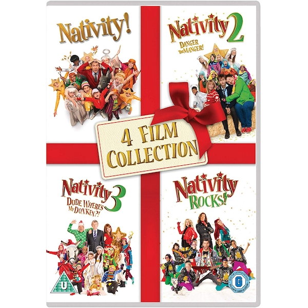 Nativity 1-4 Film Collection DVD