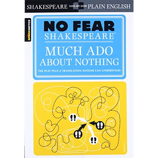 Much Ado About Nothing (No Fear Shakespeare) by William Shakespeare (Paperback, 2004)