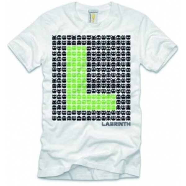 Labrinth Space Invaders Mens T Shirt: XXL