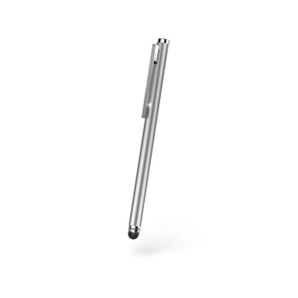 """Hama """"Slim"""" Input Pen for tablets and smartphones, silver"""