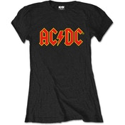 AC/DC - Logo Women's Medium T-Shirt - Black