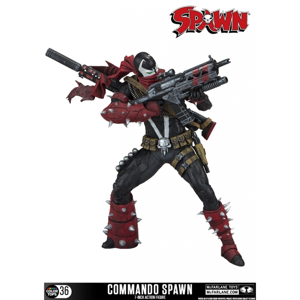 Commando Spawn (Spawn) Colour Tops 7 Inch Action Figure
