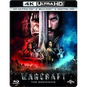 Warcraft: The Beginning 4K UHD + Blu-ray + Digital HD