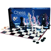 Chess & Draughts Game Set