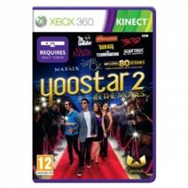 Ex-Display Kinect Yoostar 2 Game Xbox 360 Used - Like New - Image 1